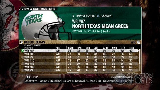 NCAA Football 09 Screenshot #793 for Xbox 360