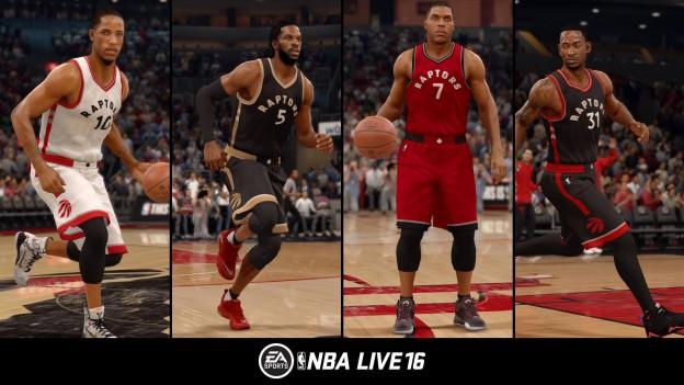 NBA Live 16 Screenshot #65 for PS4