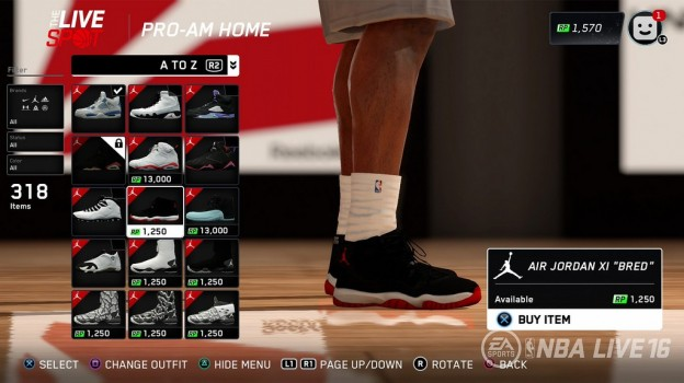 NBA Live 16 Screenshot #71 for PS4