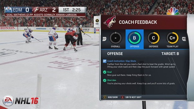 NHL 16 Screenshot #146 for PS4