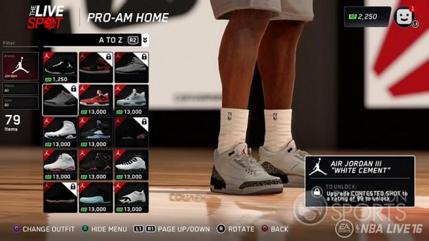 NBA Live 16 Screenshot #83 for PS4