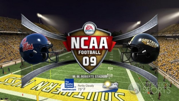 NCAA Football 09 Screenshot #811 for Xbox 360