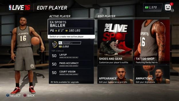 NBA Live 16 Screenshot #95 for PS4