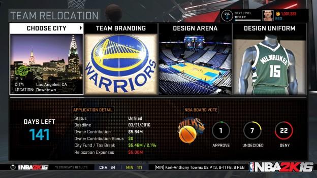 NBA 2K16 Screenshot #39 for Xbox One