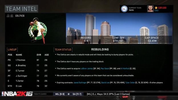 NBA 2K16 Screenshot #41 for Xbox One