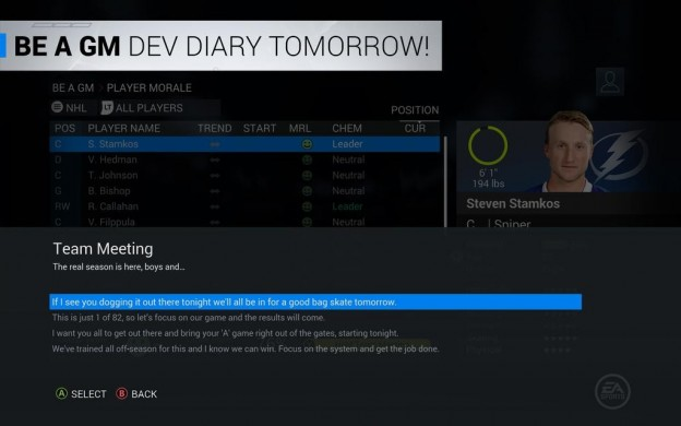 NHL 16 Screenshot #148 for PS4