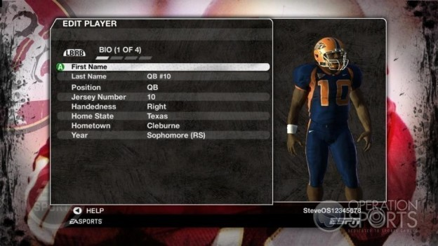 NCAA Football 09 Screenshot #821 for Xbox 360
