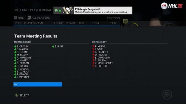 NHL 16 Screenshot #110 for Xbox One