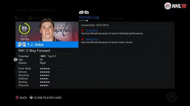 NHL 16 Screenshot #113 for Xbox One