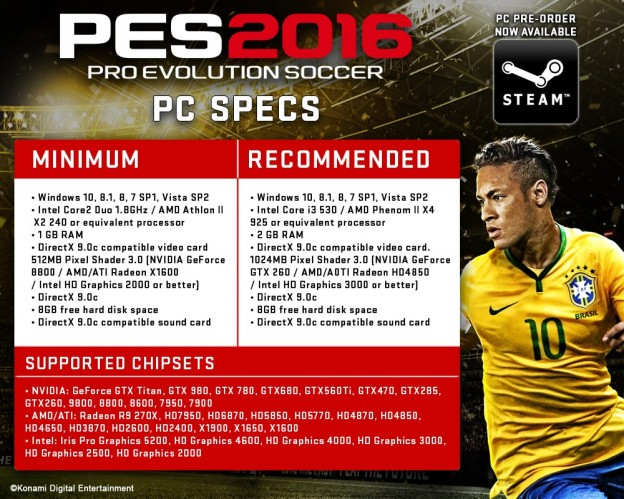 PES 2016 Screenshot #1 for PC