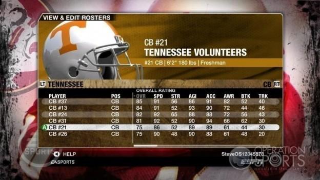 NCAA Football 09 Screenshot #826 for Xbox 360
