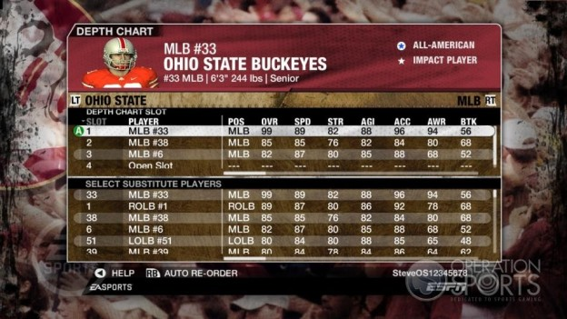 NCAA Football 09 Screenshot #833 for Xbox 360