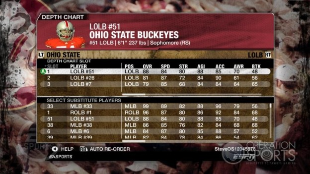 NCAA Football 09 Screenshot #834 for Xbox 360
