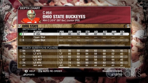 NCAA Football 09 Screenshot #837 for Xbox 360