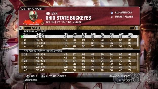 NCAA Football 09 Screenshot #841 for Xbox 360
