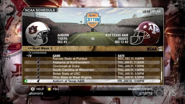 NCAA Football 09 Screenshot #850 for Xbox 360