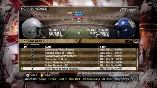 NCAA Football 09 Screenshot #851 for Xbox 360