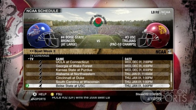NCAA Football 09 Screenshot #852 for Xbox 360