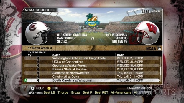NCAA Football 09 Screenshot #853 for Xbox 360