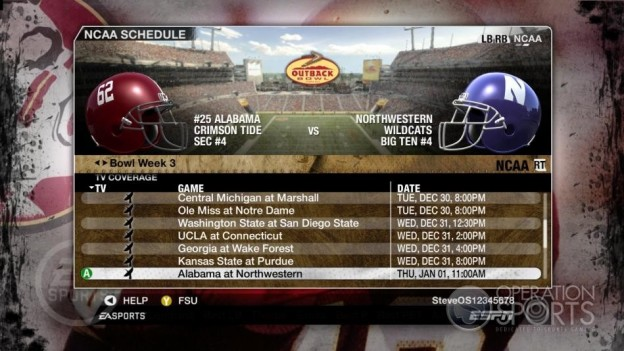 NCAA Football 09 Screenshot #855 for Xbox 360