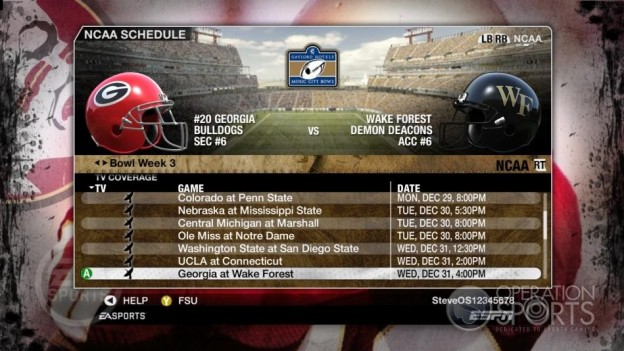 NCAA Football 09 Screenshot #857 for Xbox 360