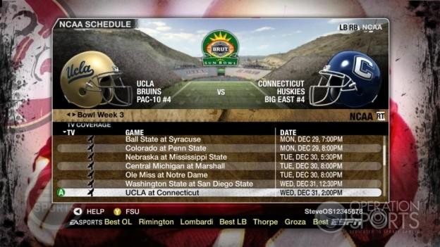 NCAA Football 09 Screenshot #858 for Xbox 360