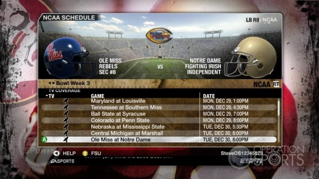 NCAA Football 09 Screenshot #860 for Xbox 360