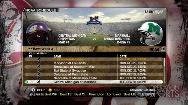 NCAA Football 09 Screenshot #861 for Xbox 360