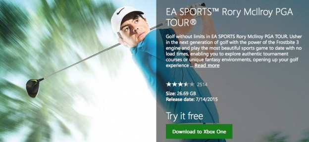Rory McIlroy PGA TOUR Screenshot #79 for Xbox One