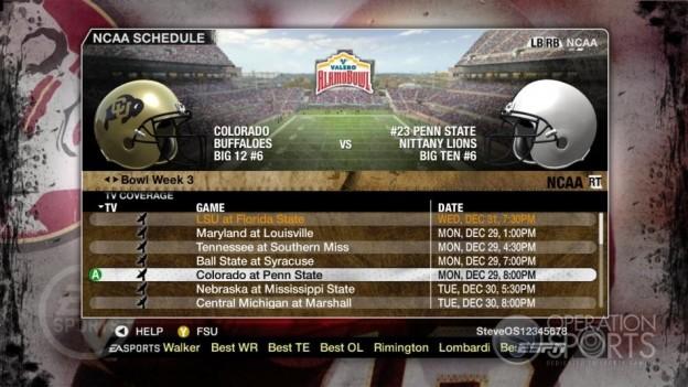 NCAA Football 09 Screenshot #863 for Xbox 360