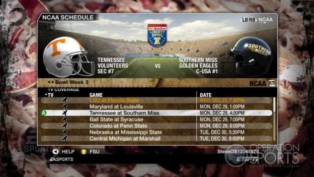 NCAA Football 09 Screenshot #865 for Xbox 360