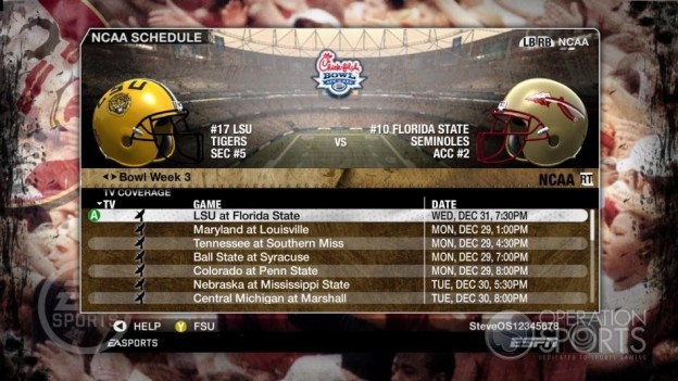 NCAA Football 09 Screenshot #867 for Xbox 360