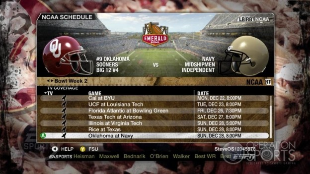 NCAA Football 09 Screenshot #868 for Xbox 360