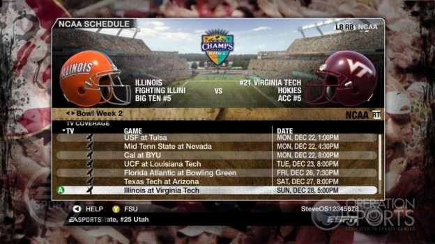 NCAA Football 09 Screenshot #870 for Xbox 360