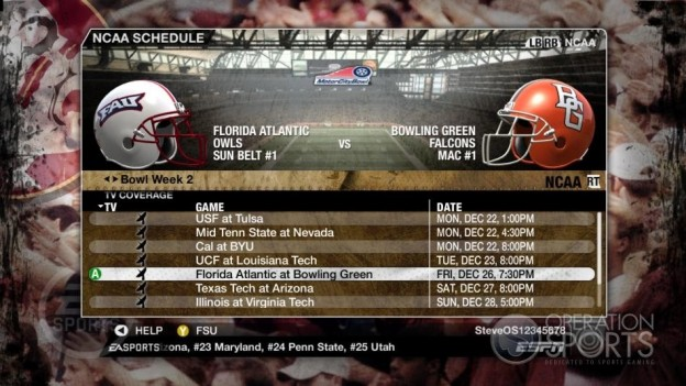 NCAA Football 09 Screenshot #872 for Xbox 360
