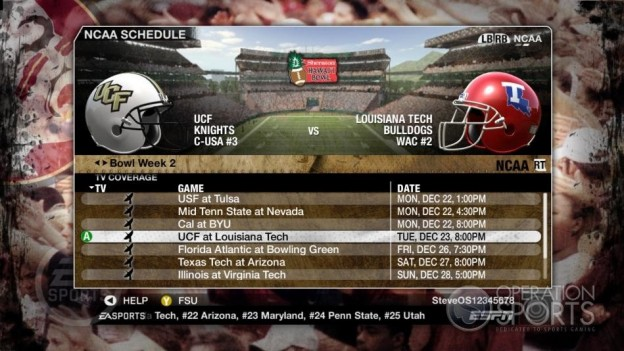 NCAA Football 09 Screenshot #873 for Xbox 360
