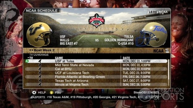NCAA Football 09 Screenshot #876 for Xbox 360
