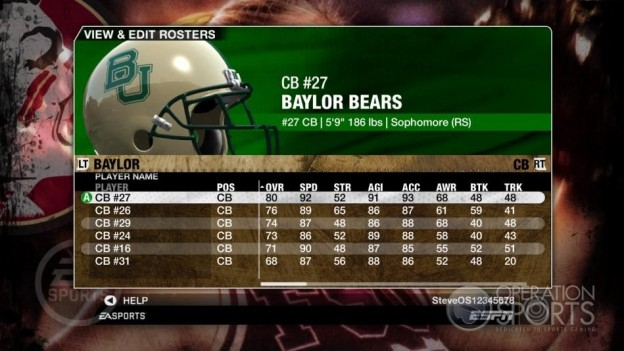 NCAA Football 09 Screenshot #880 for Xbox 360
