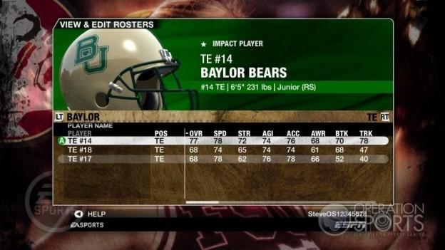 NCAA Football 09 Screenshot #881 for Xbox 360