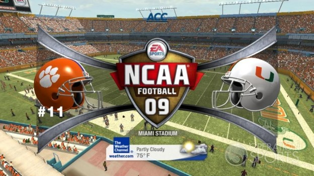 NCAA Football 09 Screenshot #891 for Xbox 360