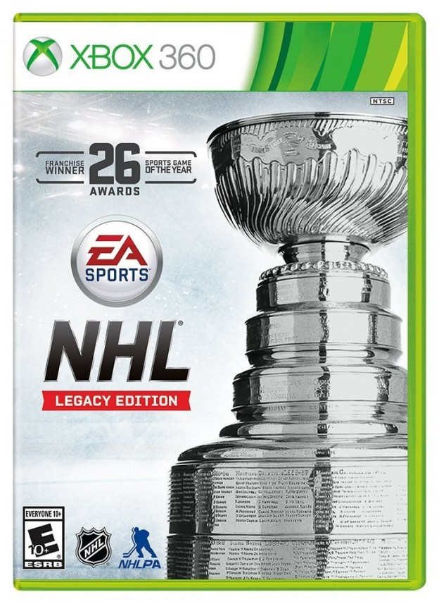 NHL Legacy Edition Screenshot #1 for Xbox 360