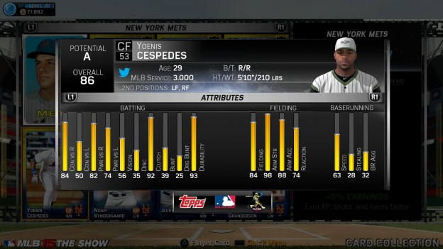 MLB 15 The Show Screenshot #410 for PS4
