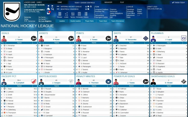 Franchise Hockey Manager 2 Screenshot #5 for PC