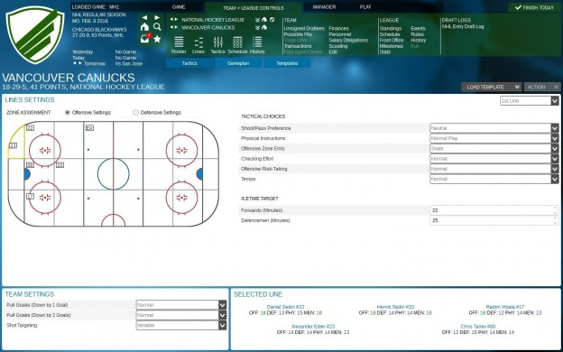 Franchise Hockey Manager 2 Screenshot #7 for PC