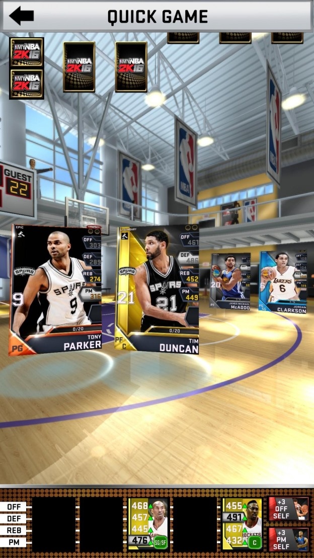 MyNBA2K16 Screenshot #1 for Android