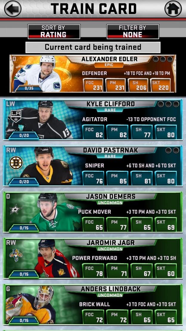 NHL SuperCard Screenshot #8 for iOS
