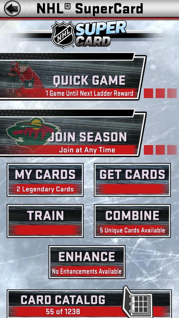 NHL SuperCard Screenshot #9 for iOS