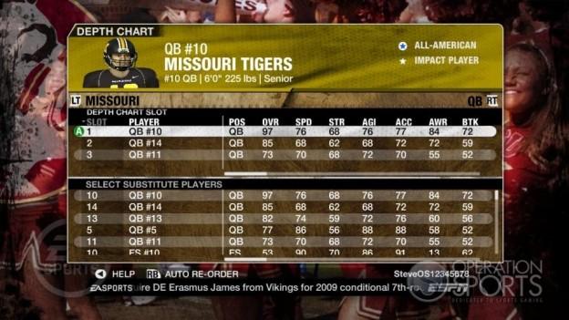 NCAA Football 09 Screenshot #947 for Xbox 360