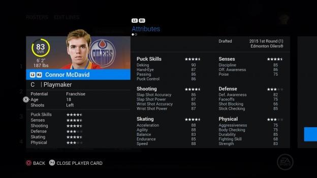 NHL 16 Screenshot #242 for PS4