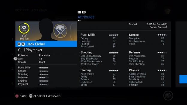 NHL 16 Screenshot #243 for PS4